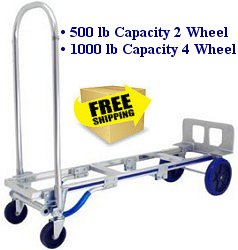 click thumbnail image for larger view rwm senior convertible hand truck - Convertible Hand Truck